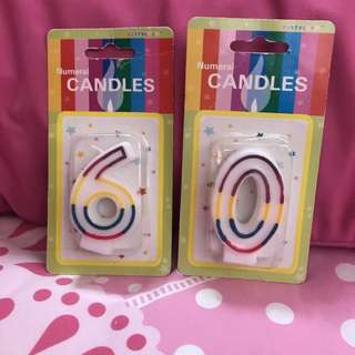 Candle - 6 & 0