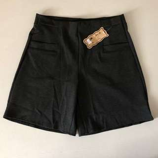 BNIB Stretchable Ladies' Grey Shorts