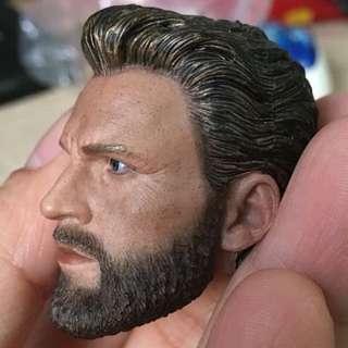 1/6 Captain America custom head sculpt