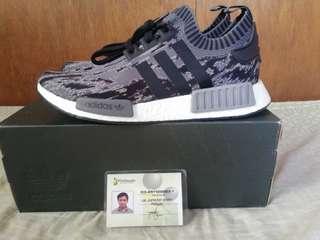 Adidas Nmd r1 pk glitch camo black/gray