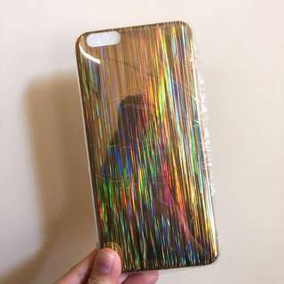 鐳射Iphone case 6/6s plus new 全新手機軟殻