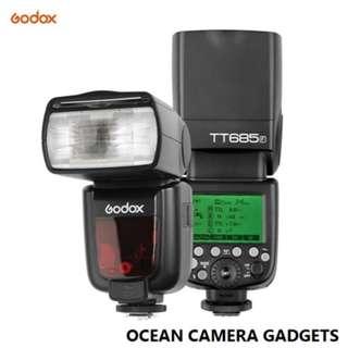 Godox Thinklite 685 TT685 F TTL Camera Flash Speedlite GN60 2.4G Wireless Transmission for Fuji X-Pro2 X-T20 X-T2 X-T1 X-Pro1 X-T10 X-E1 X-A3 X100F X100T Cameras