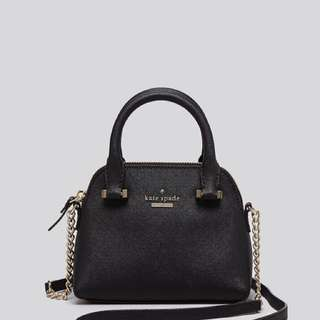 KATE SPADE BLACK MINI MAISE - SOLD OUT EVERYWHERE!