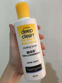 Deep Clean Blackhead Eliminating Cooling Toner