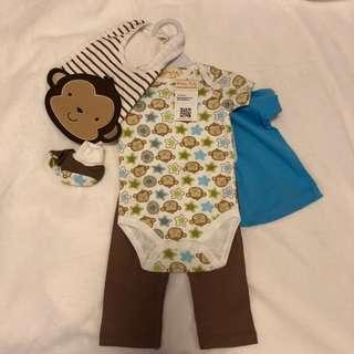 Mellow Baby Boy 5 in 1 Gift Set