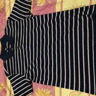 Uniqlo - Striped Poloshirt