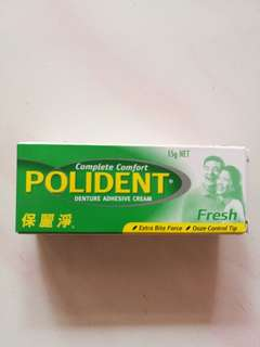 POLIDENT dental adhesive cream 15g