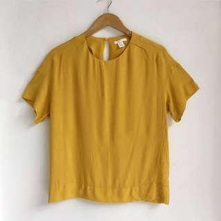 H&M mustard