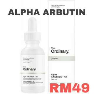THE ORDINARY ALPHA ARBUTIN