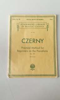 Czerny Practical Method for Beginners on the Pianoforte Vol 146