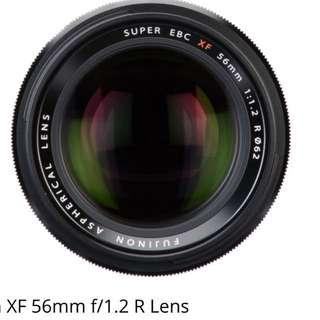 Fujifilm 56mm F1.2 WR ( imported )