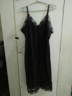 nighties/black inset