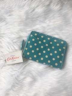 Authentic Cath Kidston zipped purse w/ mirror