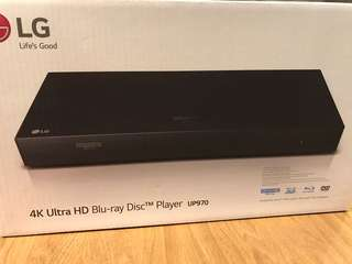 UP970 4K Ultra HD Blu-ray Disc Player