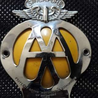 Singapore AAM badge..