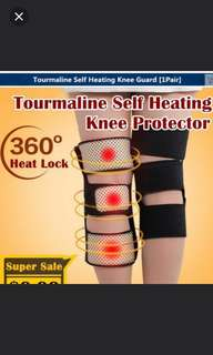 A pair of Tourmaline Self Heating Knee Protector Guards
