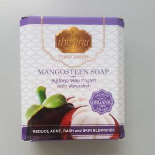 泰國有機山竹番梘 organic mangosteen soap 100% natural