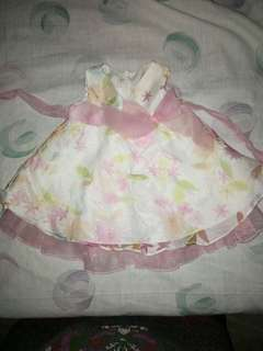 Baby dress for 0-3mons.