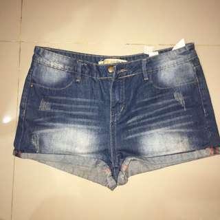 zara shorts size gede