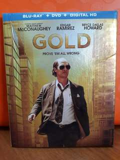 USA Blu Ray Slipcase - Gold