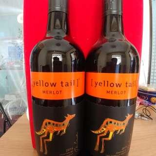 黃尾袋鼠紅酒