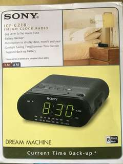 Sony Clock Radio ICF C218