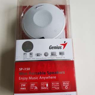 Brand new Genius SP-i150 mini portable speakers