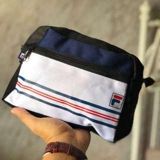 Fila Version 2 Mini Pouch Black Bag