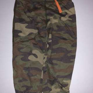 Carter's camo camouflage jogger pants for 24 months 2 year old