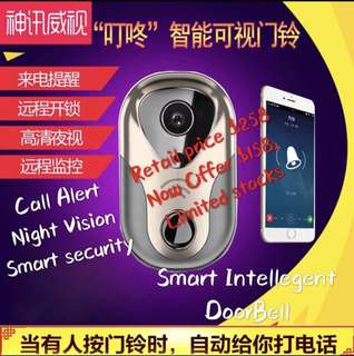 Smart Doorbell with wifi video camera