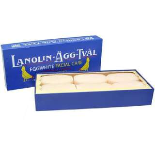Lanolin/Victoria Egg Soap Box of 6's