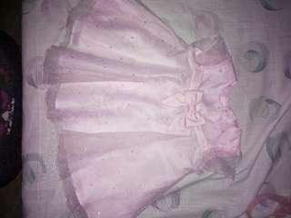 Pink dress 6-9mons