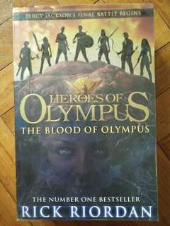 Heroes Of Olympus #5: Blood of Olympus