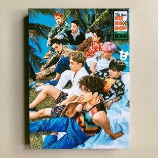 WTS EXO The 4th Album THE WAR (Regular B Ver.) (Korean)