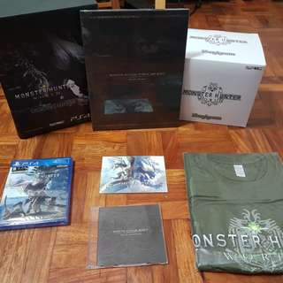 Monster Hunter World Collector's Edition PS4 R3
