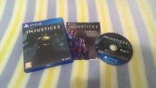 Cd Games PS 4 Injustice 2