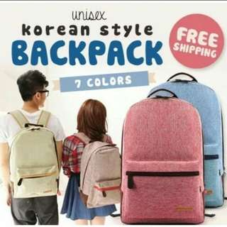 Fast Door delivery Korean Backpack