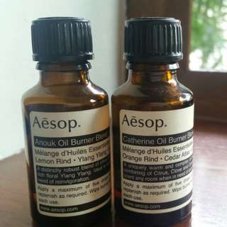 Aesop Anouk and Catherine oil burner blend