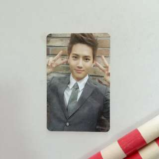 EXO Suho Official Growl Photocard Version A