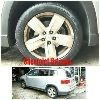 Tyre 225/50 R17 Membat on Chevrolet Orlando 🐕 Super Offer 🙋♂️
