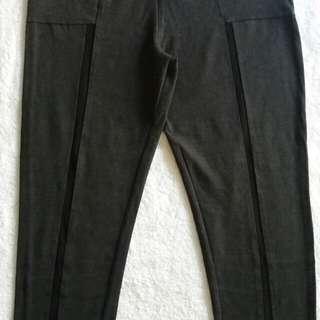 Size12 Lululemon Capri w/ Mesh