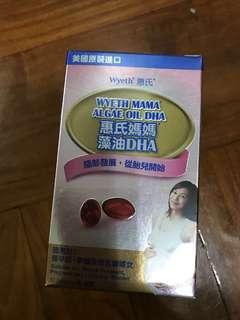 惠氏 藻油丸 DHA OMEGA 孕婦 補充品