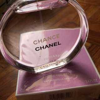 US Perfume Tester - Chanel Chance Tendre