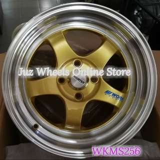 "Work~ S1~15"" Modern stylish sport rims,Ready stock!"