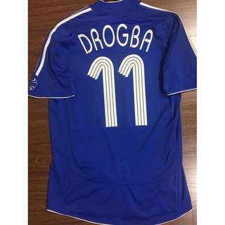 Adidas AUTH Samsung mobile Chelsea football soccer jersey S