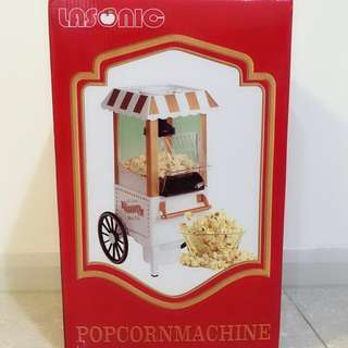 全新未開封POPCORN MACHINE lasonic