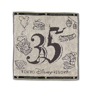 Tokyo Disneysea Disneyland Disney Resorts Sea Land 35th Anniversary Mickey Mouse Wash Towel Preorder