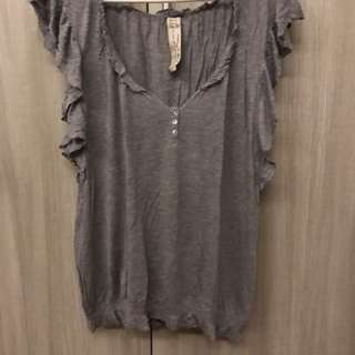 Zara Gray Top