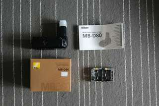 Nikon MB-D80 Multi Power Battery Pack (Vertical Grip)