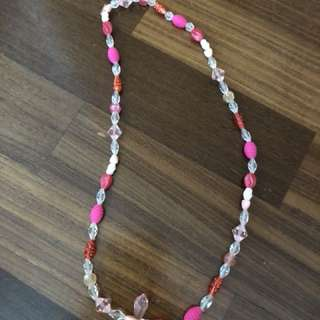 Handmade Crystal Necklace